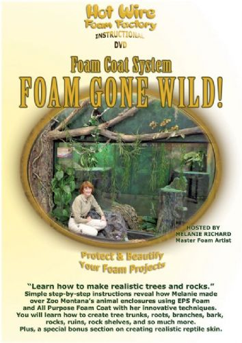 Hot Wire Foam Factory Foam Gone Wild Instructional DVD